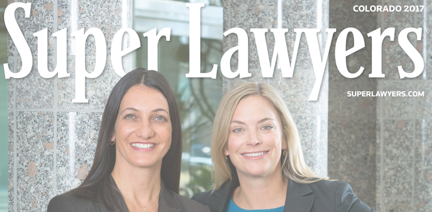 ON THE COVER: SUPER LAWYERS 2017